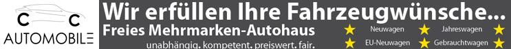CC Automobile Düren - Neuwagen, Jahreswagen, EU-Neuwagen + Gebrauchtwagen. Ihr Mehrmarken-Autohaus - unabhängig, kompetent, fair, preiswert